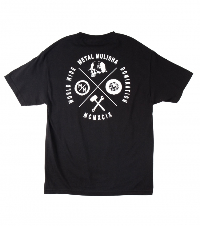 Motorsports Metal Mulisha Mens Tee.  100% Cotton.  Screenprint. - $20.99