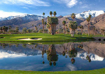 Golf Indian Canyons Golf Resort has two 18 hole championship courses