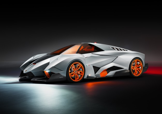 Auto and Cycle Lamborghini Egoista: Sant'Agata's Aviation-Inspired, Hot Wheels–Like Anniversary Special.  Article by Jens Meiners on May 12, 2013