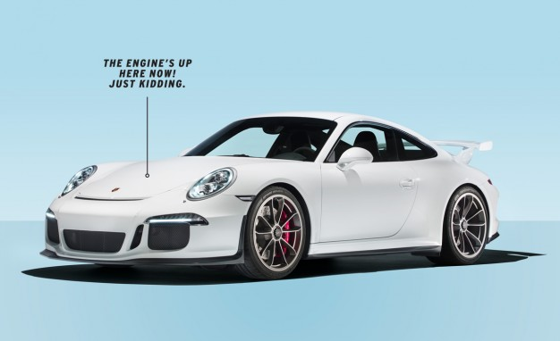 Auto and Cycle Dissected: An In-Depth Look at the Automatic-Only 2014 Porsche 911 GT3.  Article by Csaba Csere posted May 1, 2013