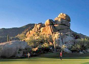 Golf The Boulders Resort has two championship courses, one designed by Jay Moorish