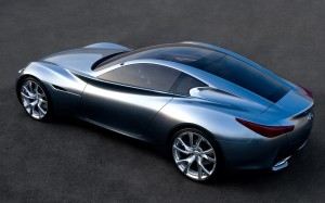 Auto and Cycle We Hear: Infiniti May Launch Halo Sports Car by 2016.  Article by Zach Gale posted May 13, 2013