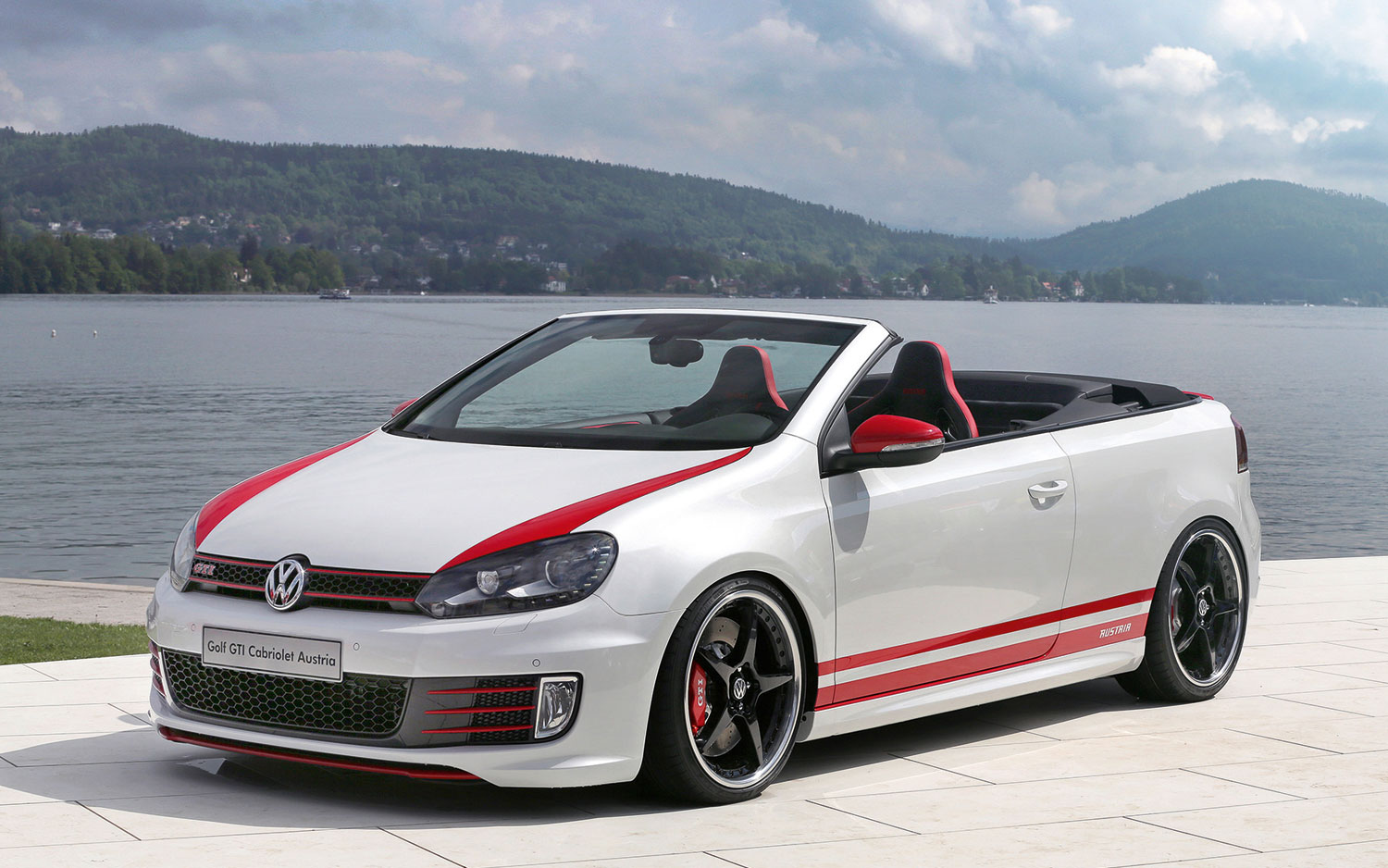 Auto and Cycle 328 HP Volkswagen GTI Cabrio Concept Unveiled at Worthersee.  Article by Edward A. Sanchez posted May 11, 2013