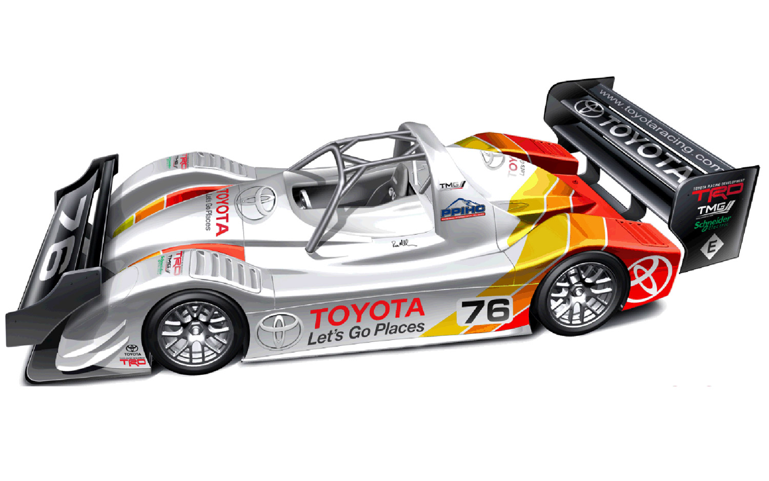 Motorsports Toyota Returning to Pikes Peak With Revised 536-HP Electric Car.  Article by Jake Holmes posted May 9, 2013