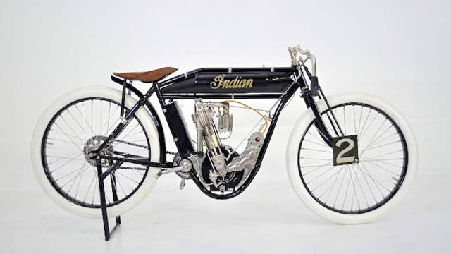Auto and Cycle 1911 Indian board track racer - Fully restored and up for sale.  Article by Silodrome: Gasoline Culture on May 15, 2013