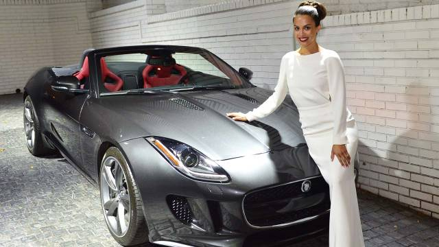 Auto and Cycle Playboy Playmate of the Year gets a Jaguar for her efforts.  Article by Chuck Tannert on May 13, 2013