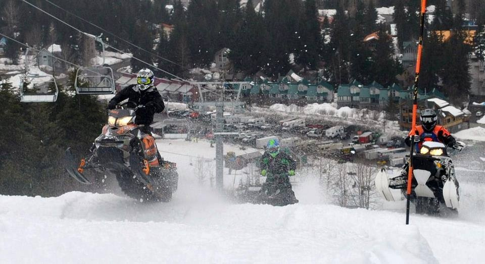 Snowmobile motor madness