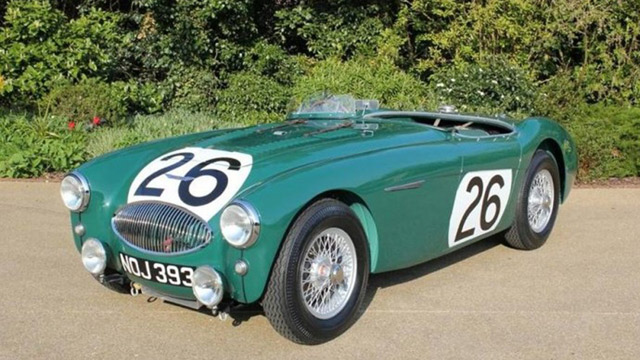 Auto and Cycle Austin-Healey involved in racing's worst crash now restored.  Article by Chuck Tannert on May 10, 2013