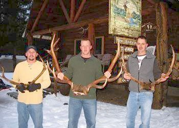 Hunting Silver Spur Outfitters & Lodge - backcountry bunkhouse accessible only by horseback