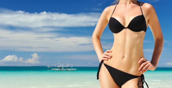 Fitness How You Can Be Beach Ready in 4 Weeks.  Article by Ryan Barnhart, MS, PES