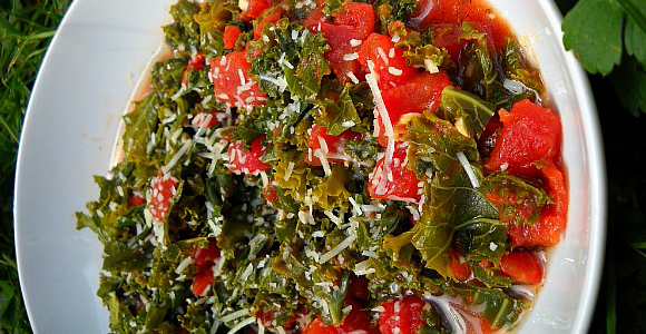 Fitness Kale for Breakfast, Lunch and Dinner.  Article by Krista Bjorn