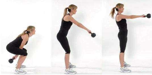 Fitness 3 Easy Full-Body Exercises, 1 Piece of Equipment.  Article by Sherry L. Granader