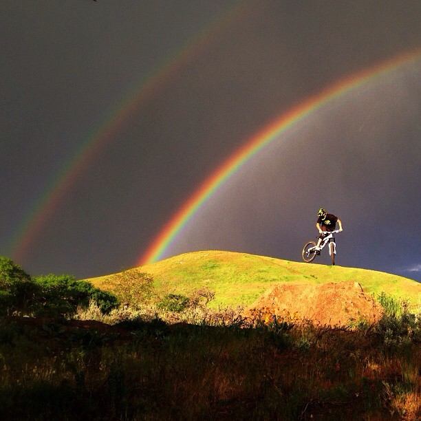 MTB One more from last night's jump session. | Photo Credit: Backcountry Athlete KC Deane