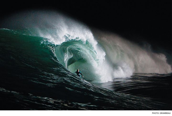 Surf Mark Mathews, a premier big-wave surfer, opens up on how he uses fear to his advantage.  READ HERE: http://bit.ly/17B0Mc2