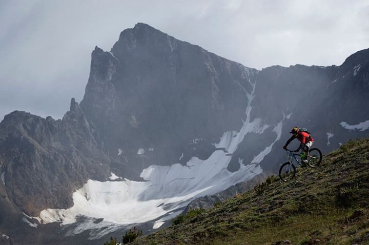 MTB Matt Miles exploring the Bender Range in Bralorne, British Columbia, Canada. Photo: Blake Jorgenson.   Read more about the expedition on our blog: http://bit.ly/10BlxMe  Check out our spring MTB gear @ http://bit.ly/107CLFq