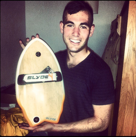 Surf Chris King showing off his new purchase! Stoked to ya in action bro!