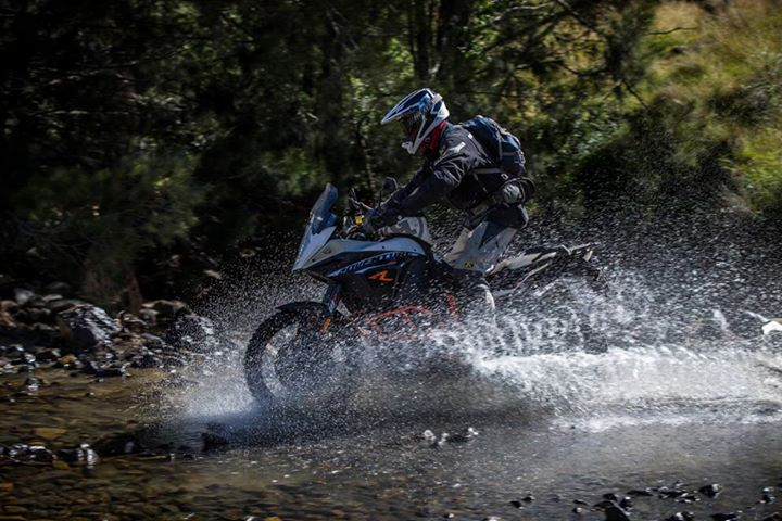 Auto and Cycle What do you guys think about the new KTM 1190 Adventure? This guy already has the best riding gear figured out.
