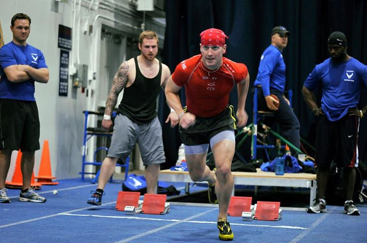 Guns and Military Capt. Mitchell Kieffer continues to work his muscles as an athlete in the 2013 Warrior Games. He will represent the Air Force in the Ultimate Champion -- a pentathlon-style event that pits warriors from each branch of service against each other. Read abou