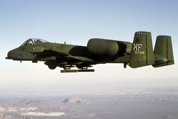 Guns and Military Throwback Thursday: Did you know that the first production A-10A was delivered to Davis-Monthan Air Force Base, Ariz., in October 1975? The upgraded A-10C reached initial operation capability in September 2007. Specifically designed for close air support,