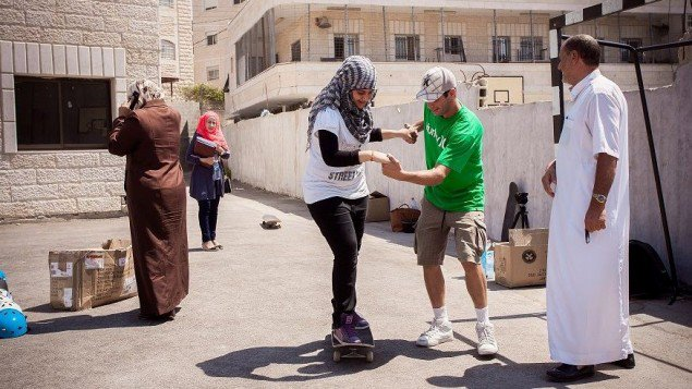 Skateboard Changing the world through skateboarding! Longboarding For Peace is doing an amazing job, take a look http://www.timesofisrael.com/goodbye-gangs-hello-longboarding/