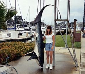 Fishing Fish Taxi Charters, Oceanside, CA for tuna, shark, dorado bass and halibut