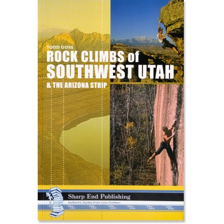 Climbing Gear up to take on the routes around St. George, Utah, with this detailed and well-illustrated climbing guide. - $15.83