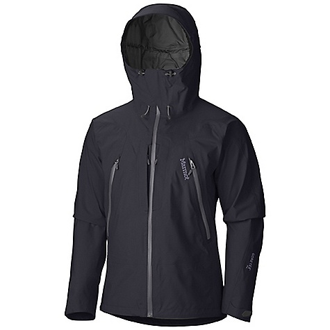 Free Shipping. Marmot Men's Alpinist Jacket DECENT FEATURES of Marmot Men's Alpinist Jacket GORE-TEX(R) Pro Fabric 100% Seam Taped - 3 Layer Construction - Provides Ultimate Waterproof Protection Helmet Compatible Hood with Laminated Wire Brim Core PitZips(TM) ERG Hood Adjustment System Core PitZips(TM) with Water Resistant Zippers Pack Pockets(TM) with Water-resistant Zippers - Pack Pockets with Water-resistant Zippers Napoleon Chest Pockets with Water Resistant Zips Stretch Anatomic Articulation - Stretch Fabric and Design Feature Reduces Excess Fabric and Improves Mobility Integrated Laser-Drilled Pocket Backing for Enhanced Breathability Zip-off Powder Skirt - Allows Removal of Powder Skirt When Not Needed Interior Mesh Storage Pocket Interior Zippered Pocket DriClime(R) Lined Chin Guard - Moisture Wicking Fabric Protects Your Face From the Zipper Elastic Draw Cord Hem - For Adjustability in Serious Weather Angel-Wing Movement(TM) - Allows Full Range of Motion in Arms so Jacket Doesn't Ride Up The SPECS Center Back Length: 30in / 76.2cm Overall Weight: 1 lbs 9.6 oz / 725.7 g Main Material: GORE-TEX(R) Pro Products 3L 100%Nylon 4.4 oz/yd - $574.95