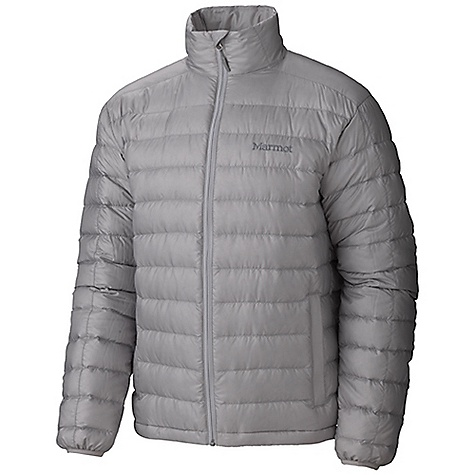 Free Shipping. Marmot Men's Zeus Jacket DECENT FEATURES of Marmot Men's Zeus Jacket Ultra Light Down Proof Fabric 800 Fill Power Goose Down - The Best Down Available for Maximum Warmth, Guaranteed Minimum Fill Zippered Hand Pockets - For Convenience Packs into Pocket Wind Flap Behind Front Zipper - Protects Against Drafts Elastic Draw Cord Hem - For Adjustability in Serious Weather Angel-Wing Movement(TM) - Allows Full Range of Motion in Arms so Jacket Doesn't Ride Up The SPECS Center Back Length: 26.5in / 67.3cm Overall Weight: 1 lbs 5.9 oz / 620.9 g Main Material: 100% Nylon DWR Shiny Plain Weave 1.4 oz/yd Lining Material: 100% Polyester Embossed WR 1.8 oz/yd Insulation Material: 650 Fill Goose Down - $199.95