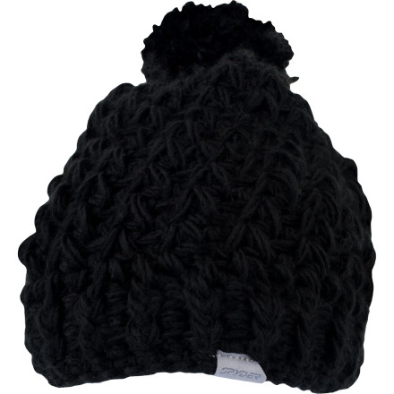 Keep winter casual with the Spyder Women's Slouchy Hat. Chunky-knit fabric helps to trap more warmth, and the slouchy fit has a laid back look that flies anywhere from the mountain to the pizza place around the corner. - $14.98