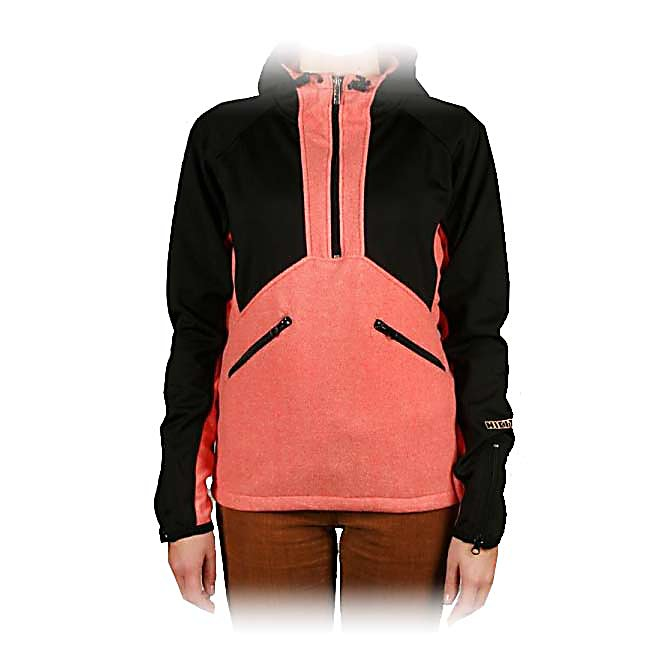 Ski Nikita Pipinski Fleece Womens Hoodie - The Nikita Pipinski Fleece Womens Hoodie is a light and breathable hoodie making shredding in the mountains much more fun and comfortable. Featuring an adjustable hoodie for cozy warmth and two upper hip pockets to hold your stuff. Layer the Pipinski or wear it alone for a sweet look. The Pipinski is not your ordinary hoodie - add some flare and dare - its all about you! . Material: Polyester Polar Fleece, Warranty: Other, Battery Heated: No, Closure Type: Partial Zip Top, Wind Protection: Yes, Type: Hoodies, Material: Synthetic, Wicking Properties: No, Sleeve Type: Long Sleeve, Water Resistant: No, Model Year: 2013, Product ID: 316603 - $49.99