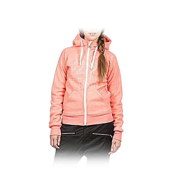 Ski Nikita Rockwell Fleece Womens Hoodie - The Nikita Rockwell Fleece Womens Hoodie will heighten your hoodie collection, you can never have enough hoodies. Great coverage and softness brings it home - wear alone as a perfect jacket when the temps move up on the thermometer or layer for added warmth when needed with unexpected weather changes. The Rockwell gives you a cute flattering shape with ease of movement to practice you sport. . Material: Polyester, Warranty: Other, Battery Heated: No, Closure Type: Full Zip Top, Wind Protection: Yes, Type: Hoodies, Material: Synthetic, Wicking Properties: No, Sleeve Type: Long Sleeve, Water Resistant: No, Model Year: 2013, Product ID: 316625 - $49.99