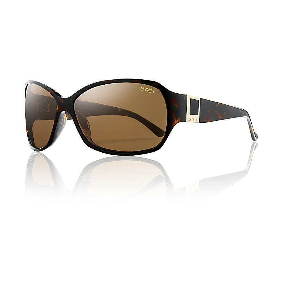 Ski Smith Skyline Polarized Womens Sunglasses - A universally stylish silhouette is delicately framed by subtle yet elegant branding. Not too big, and not too small. Many will say, its just right. The perfect compliment to a day at the beach or on outdoor summer event. Premium Polarized TLT lenses, and gorgeous gradient tint lens options compliment the rich colored frames. These Skyline Sunglasses feature polarized lenses. . Lens Type: Polarized, Product ID: 228572, Frame Shape: Butterfly / Round / Wrap, Model Number: SKTPBRTT, GTIN: 0715757361761, Warranty: Lifetime, Face Size: Medium, Gender: Women, Polarized: Yes, Frame Material: Acetate, Lens Material: CR-39, Best Use: Fashion - $139.00