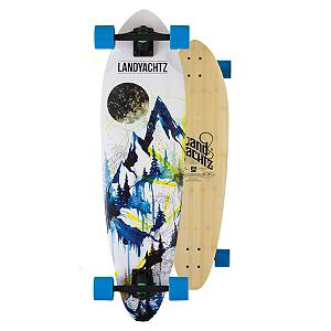 Skateboard Landyachtz Bamboo Stout Mountain Complete Longboard - The Landyachtz Bamboo Stout Mountain Complete Longboard says it all just by the way it presents itself. Surf-inspired design with a mountainous graphic, you'll feel like you can tackle the world on this board. This little board is a monster at cruising. You can easily take to the streets and pass all the pedestrians clogging up the sidewalk. It's mild rocker help make this board a perfect transportation tool to get around campus quicker or just commuting around town easier. For the rider on the go who wants convenience in their transportation, you'll want to hop on the Landyachtz Bamboo Stout Mountain Complete Longboard. . Wheel Size: 69mm, Deck Width: 9.90in, Deck Length: 36.00in, Model Year: 2013, Product ID: 315475 - $169.99