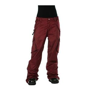 Snowboard Nikita Paget Womens Snowboard Pants - The Nikita Paget Womens Snowboard Pants will complete your favorite snowboarding outerwear as you mix or match it up with sweetest Nikita Snowboard Jacket. The Paget Snowboard Pants have a moisture wicking satin lining for complete comfort and ease of movement when riding the park. These pants are equipped with fully taped seams and snowproof Zip On/Off Pants/Jacket system - keeping you dry, warm and toasty allowing you to take to the slopes in most all weather conditions, as you can layer up or down - what ever works for you. Features: Adjustable Drawstring On Bottom Leg, Super Soft Tricot Lining On Butt And Knees. Exterior Material: Poly twill, Insulation Weight: N/A, Taped Seams: Fully Taped, Waterproof Rating: 10,000mm, Breathability Rating: 10,000g, Full Zip Sides: No, Thigh Zip Venting: Yes, Suspenders: None, Articulated Knee: No, Low Rise: Yes, Warranty: Other, Race: No, Waterproof: Moderately Waterproof (5000mm-19,999mm), Breathability: High Breathability (9000g-15,000g), Type: Shell, Cut: Regular, Lining Material: Mesh lining, Waist: Adjustable, Model Year: 2013, Product ID: 316562, Model Number: L36117100 XS, GTIN: 0828594770556 - $109.95