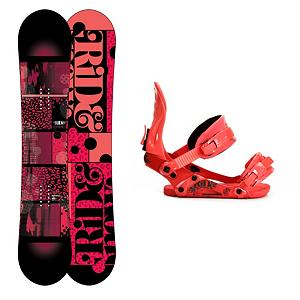 Snowboard Ride Compact Womens Snowboard and Binding Package - If you're looking for that all-mountain freestyle ride then you've just found it and it's called the Ride Compact Snowboard Package. The Ride Compact Snowboard provides premium pop with a hook free feel. Featuring a LowRize rocker, which is an early rise in the tip and the tail that gives you a forgiving hook free ride, you'll have a board super easy to control and one that rolls over on edge perfectly. With the proven urethane Slimewalls you are getting the smoothest ride and the Cleave Edge provides the maximum durability in an edge on a board. The Ride VXN Womens Snowboard Bindings provides performance-boosting flex and support. The VXN has the Wedgie 1.5 which has a subtle angle that provides the perfect mix of comfort and support. The Thingrip toe strap is a convertible toe strap with rubber webbing to help pull your boot back into the heel cup of that boot for maximum performance. Surfy feeling with a lightweight urethane top sheet that shimmers brightly in the light, you'll love the style and feel of the Ride Compact Snowboard Package. . Recommended Use: All-Mountain Freestyle, Snowboard Rocker Profile: Rocker, Package Type: Board and Bindings, Skill Range: Intermediate - Advanced, Model Year: 2013, Product ID: 311912, Gender: Womens, Skill Level: Intermediate - $369.99