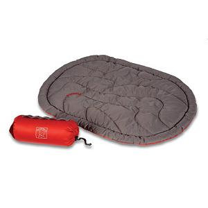 Camp and Hike Super light and compressible, the Ruff Wear Highlands Dog Bed is a perfect spot for your dog to take a rest while camping or hiking.  The Highlands Dog Bed is insulated with synthetic high loft Thermore so that your dog doesn't get the chills rising from the ground and a water-resistant, quick drying shell is great if the rains hit ya during your outdoor excursions.  Included are four stake-out loops so you can secure the bed onto the ground or hanging it up to dry. The Ruff Wear Highlands Dog Bed also comes with a stuff sack so it's easy to pack up once you're ready to head off.  Synthetic High Loft Thermore Insulation,  Water-Resistant, Quick Drying Shell,  Durable Shell Fabrics,  Four Stake-Out Loops,  Stuff Sack,  Model Year: 2015, Product ID: 257681, Model Number: 1040-035, GTIN: 0748960193911 - $74.95