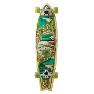 Skateboard Sector 9 Bamboo Snapper Complete Longboard - The Sector 9 Bamboo Snapper Complete Longboard is as smooth as a day at the beach. When you're cruising around town, this is the kind of board you want to be on. The 5 Ply Vertically Laminated Bamboo Construction provides you with enough strength to the board while also giving you the flex you need when combing the urban landscape. It's a simple and clean design along with beach-inspired graphics ensure that you can always maintain that laid-back lifestyle that you like to project. . Bearing Type: ABEC 5, Wheel Size: 61mm, Deck Width: 8.75in, Deck Length: 34.00in, Model Year: 2013, Product ID: 315863 - $169.99