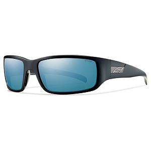 Snowboard Smith Prospect Polarized Sunglasses - With a simple, yet classic look the Smith Prospect Polarized Sunglasses are a great pair of shades that have more to them than their look. They feature durable lenses and a tough frame that will keep you comfortable. . Lens Type: Polarized, Model Year: 2014, Product ID: 270712, Frame Shape: Rectangle / Wrap, Model Number: POPPUGMBK, GTIN: 0715757400644, Warranty: Lifetime, Nose Pads: Yes, Face Size: Medium, Gender: Adult, Additional Lenses: No, Interchangable Lens: No, Photochromatic: No, Polarized: Yes, Frame Material: Grilamid, Lens Material: Polycarbonate, Best Use: Multisport - $119.00