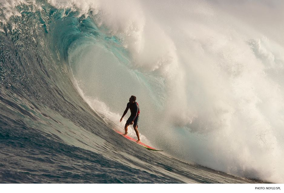 Surf Big-wave surfer and aerial phenom Albee Layer