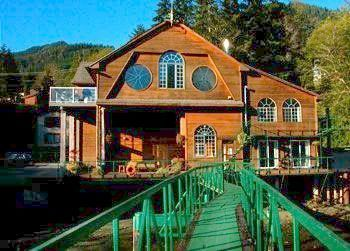 Flyfishing The Lodge Tahsis Harbor in Langley, Washington has both fly and saltwater fishing plus five-star cuisine
