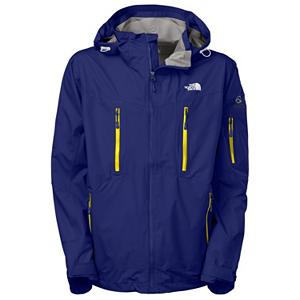 Ski The North Face Kannon Mens Shell Ski Jacket - North Face is at it again, they have created the ideal Shell just for men. This Kannon Shell Ski Jacket has a regular fit, is made of Hyvent 2L Proweave fabric and lined with taffeta and mesh for the protection from the wind, water, and other outside elements while remaining highly breathable. This jacket features FlashDry technology which improves the drying time and breathability. Other features include the fully sealed seams, adjustable fixed hood, pit zip vents, zippered chest pocket with internal media port, zippered hand warmer pockets, and the snap-away powder skirt with gripper elastic that will protect you from the outside snow entering. On the deep powder days the clip-in integration, which enables the jackets powder skirt and pants to be fastened together with a system of multiple clips to seal out the snow and keep you warm and dry each time that you take to the powder. Ideal for trekking, skiing and snowshoeing in challenging, inclement weather conditions all winter long while looking fabulous, with protection like no other. Features: Internal utility pocket, Pant-a-locks, Adjustable hem system, Adjustable cuff tabs. Insulation Weight: None, Taped Seams: Fully Taped, Waterproof Rating: 17,600mm, Breathability Rating: 800g, Hood Type: Fixed, Pit Zip Venting: Yes, Powder Skirt: Yes, Warranty: Lifetime, Battery Heated: No, Waterproof: Moderately Waterproof (5000mm-19,999mm), Breathability: Low Breathability (< 4000g), Cuff Type: None, Wrist Gaiter: No, Waterproof Zippers: No, Cinch Cord Bottom: No, Model Year: 2013, Product ID: 268276, Shipping Restriction: This item is not available for shipment outside of the United States., Insulator: No, Insulation Type: None (Shell), Length: Medium, Cut: Regular, Type: Shell, Rain Jacket: No, Race: No, Use: Ski, Hood: Yes, Goggle/Sunglasses Pocket: No, Electronics Pocket: Yes, Pockets: 4-5, Exterior Material: Polyester 2.5L HyVent with FlashDry Laminate Ripstop Weave - $249.95