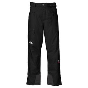 Ski The North Face Kannon Insulated Short Mens Ski Pants - With a rugged durability the North Face Kannon Insulated Ski Pants are designed to let you rip up the backcountry while being highly breathable and waterproof. Made with the FlashDry technology these pants dry quicker than any other pants and are highly breathable. The Kannon Insulated Pants are high-performance and designed to be durable, waterproof and breathable. Its HyVent 2.5L FlashDry Shell utilizes a polyurethane coating for waterproof protection, moisture permeability and durability. When you're working up a sweat and need a little cooling, the Chimney Venting System is there for you dramatically improving air flow which reduces heat and humidity and greatly improves breathability so you have increased comfort and performance. One of the best ski pants out there packed with North Face's finest technology, the Kannon Mens Insulated Ski Pant is sure to keep you warm and comfortable every day on the mountain. Features: Chimney Venting system, Reinforced edge guards, Pant-a-lock compatible. Model Year: 2013, Product ID: 268245, Shipping Restriction: This item is not available for shipment outside of the United States., Pockets: 3-4, Waist: Adjustable, Lining Material: Polyester, Cut: Regular, Type: Insulated, Use: Ski, Breathability: Very High Breathability (>15,001g), Waterproof: Totally Waterproof (20,000mm+), Race: No, Warranty: Lifetime, Cargo Pockets: No, Articulated Knee: No, Suspenders: None, Thigh Zip Venting: No, Full Zip Sides: No, Breathability Rating: Not Specified, Waterproof Rating: Not Specified, Taped Seams: Fully Taped, Insulation Weight: 40 Grams, Softshell: No, Exterior Material: 2.5L HyVent with FlashDry Laminate Ripstop Weave - $179.95