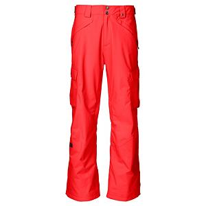 Ski The North Face Fargo Cargo Mens Ski Pants - The North Face Fargo Cargo Pants is a waterproof and breathable piece of outerwear that will keep you dry and comfortable. The Fargo Cargos HyVent 2L Proweave exterior will keep the wintry mix of snow and sleet outside so you can remain warm, but also, the breathability won't make you feel constricted. You'll have plenty of room throughout to pop tricks in the park with that extra bit of room through the hips, thighs, knees and cuff. Plenty of pockets ensures that anything you want to carry is within easy reach. If you're tearing up the slopes on a warm day as the sun is beating down on ya, you can always pull open the thigh vent for some cooling down. Stay dry. Stay comfortable. And don't lose your style. The North Face Fargo Cargo Pants will keep you in good shape each moment on the mountain. Features: Flap Cargo Pockets with Lot Lift System, Clip Integration Belt Loops, Cuff Zip Gussets. Exterior Material: HyVent 2L Proweave, Softshell: No, Insulation Weight: None, Taped Seams: Fully Taped, Waterproof Rating: 17,600mm, Breathability Rating: 800g, Full Zip Sides: No, Thigh Zip Venting: Yes, Suspenders: None, Articulated Knee: No, Cargo Pockets: Yes, Warranty: Lifetime, Race: No, Waterproof: High Waterproofing (15,001 - 20,000mm), Breathability: Low Breathability (< 5,000g), Use: Ski, Type: Shell, Pant Fit: Regular, Lining Material: Mesh and Thermoliner, Waist: Adjustable, Pockets: 5-6, Model Year: 2013, Product ID: 282785, Shipping Restriction: This item is not available for shipment outside of the United States., Model Number: A99W15Q-S-REG, GTIN: 0053329600734 - $79.92