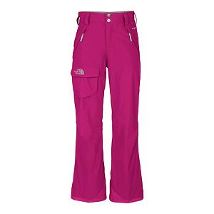 Ski The North Face Freedom Insulated Girls Ski Pants - Full strides, cartwheels and even inevitable yard sales on the mountain won't split these durable, waterproof pants. Constructed with highly efficient insulation, these high-performing pants are engineered to withstand cold temperatures and loads of activity. Insulated, waterproof and breathable, these pants from The North Face provide all-mountain performance. Nylon taffeta lining and Heatseeker polyester insulation provide excellent thermal retention and moisture management. Partial elastic waist with a zipper fly and snap-front closure and belt loops let you use your own belt if so desired. Articulated knees allow freedom of movement and zippered thigh vents with mesh gussets provide adjustable ventilation. Features: Reinforced cuffs. Taped Seams: Critically Taped, Breathability Rating: 675g, Full Zip Sides: No, Thigh Zip Venting: No, Suspenders: None, Articulated Knee: Yes, Warranty: Lifetime, Waist: Elastic, Model Year: 2012, Product ID: 229459, Shipping Restriction: This item is not available for shipment outside of the United States., Model Number: ATDC190-XS, GTIN: 0648335409473, Pockets: 3-4, Lining Material: Weave Taffeta, Pant Fit: Regular, Type: Insulated, Use: Ski, Breathability: Low Breathability (< 5,000g), Waterproof: Water Resistant (< 5,000mm), Race: No, Waterproof Rating: 675mm, Insulation Weight: 60g, Softshell: No, Exterior Material: Nylon - $69.93