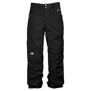 Ski The North Face Derby Insulater Girls Ski Pants - The North Face Derby Insulated Pants for Girls are waterproof/breathable and fully seam sealed to keep your girl extra warm and cozy. These insulated snow pants provide many useful needs and wants, as they accommodates growth year after year, articulated knees for extreme movement and side pockets to hold their stuff. Partial elastic waist with belt loops and snap front closure permits a secure and personal fit. EZ - Easy Grow cuffs at leg opening extend the length and life of The Derby Pant by extending an extra 2 ins if needed to keep up with growth spurts. Mix and match these ski pants with your favorite North Face Ski Jacket to complete your toasty winter ski outfit. Features: Key clip, Zip-fly, Half elastic waistband with snap front closure, Belt loops, Gaiter with gripper elastic, Waterproof, breathable, fully seam sealed, Articulated knees. Full Zip Sides: No, Warranty: Lifetime, Model Year: 2013, Product ID: 270192, Shipping Restriction: This item is not available for shipment outside of the United States., Pockets: 1-2, Waist: Elastic, Lining Material: Polyester/Taffeta, Cut: Regular, Type: Insulated, Use: Ski, Breathability: Very High Breathability (>15,001g), Waterproof: Moderately Waterproof (5000mm-19,999mm), Race: No, Articulated Knee: Yes, Suspenders: None, Thigh Zip Venting: No, Breathability Rating: 18,000g, Waterproof Rating: 18,000mm, Taped Seams: Fully Taped, Insulation Weight: 60g, Softshell: No, Exterior Material: HyVent/Polyester - $69.95