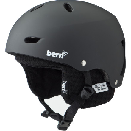 Snowboard You care about safety, but you're also not scared to admit that you care about style. Drop the Bern Women's Brighton EPS with Knit Liner over your head when you want tough protection and a streamlined design that will keep you looking sharp on the hill. - $54.97