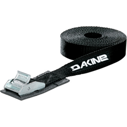Surf The 20-foot DAKINE Tie Down Strap is long and strong enough to secure multiple boards and maybe even the stinky member of your crew to the top of your ride. For total security on freeways and windy days, pick up two of these 20-footers and be sure your boards make it to your chosen spot. - $14.36