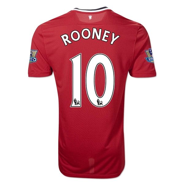 Entertainment ROONEY Manchester United Home Soccer Jersey 2011/2012