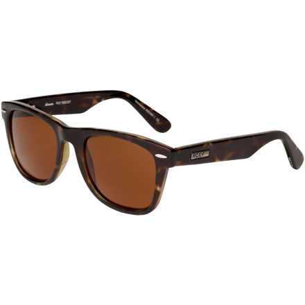 Surf The sleek and classically stylish Roxy Women's Atomic Sunglasses protect your precious eyeballs and give you crystal-clear vision. With distortion-free, polycarbonate Carl Zeiss Vision optics and 100% UV protection, you get a stunning, sheltered view of the world. And the Atomic's smooth, durable frame looks hot and feels comfy on your face. - $54.95