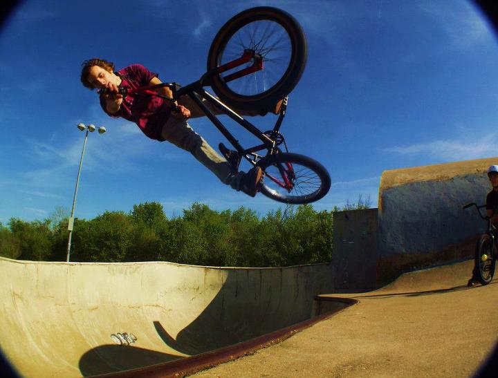 BMX Dakota Ashcroft